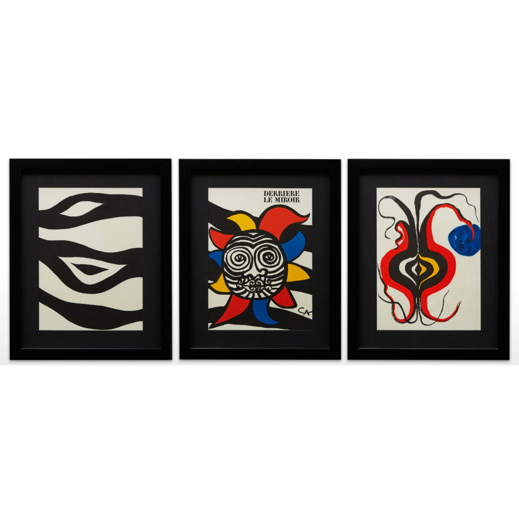 Alexander Calder lithograph,-132144