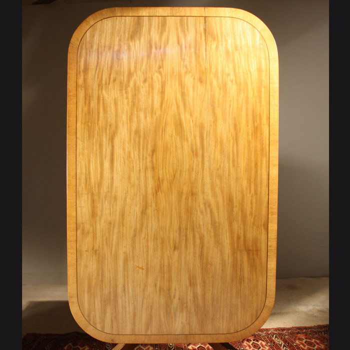 A George IV mahogany breakfast table-132054