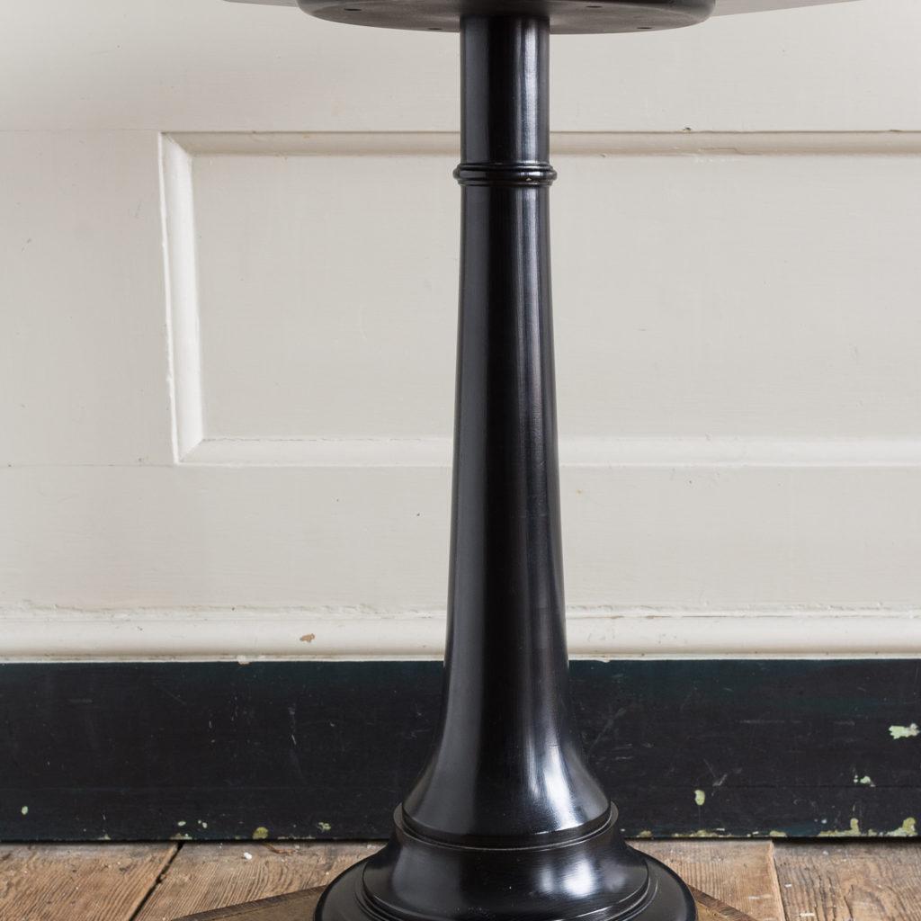 Regency style pollard oak, ebony and rosewood occasional table,-132338