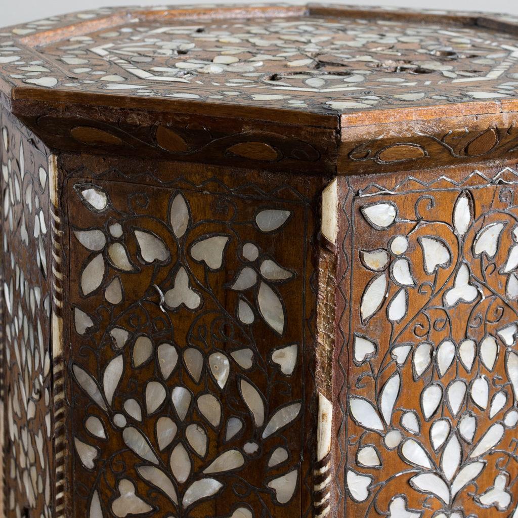 Early twentieth century Syrian octagonal occasional table, -132356