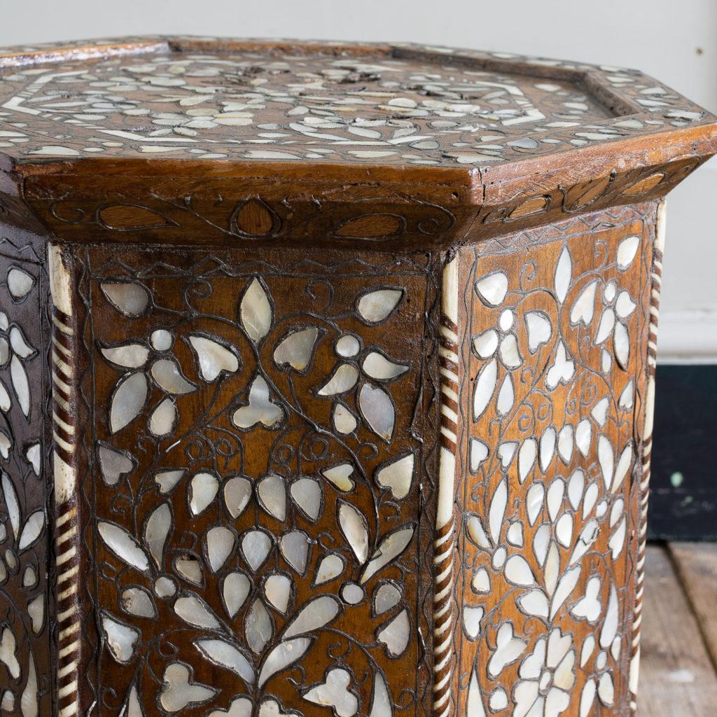 Early twentieth century Syrian octagonal occasional table, -132358