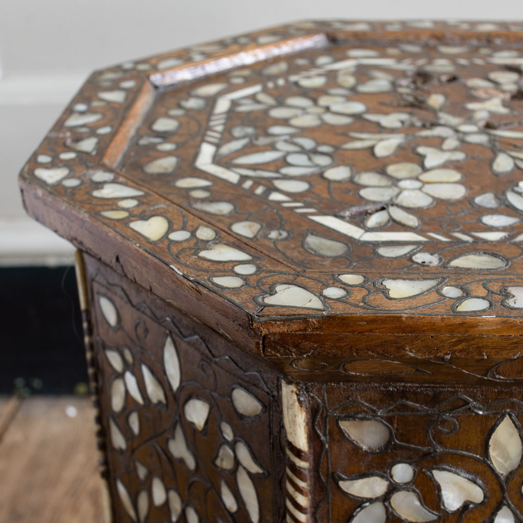Early twentieth century Syrian octagonal occasional table, -132359