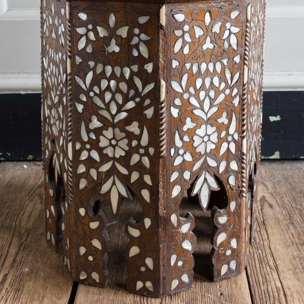 Early twentieth century Syrian octagonal occasional table, -132361