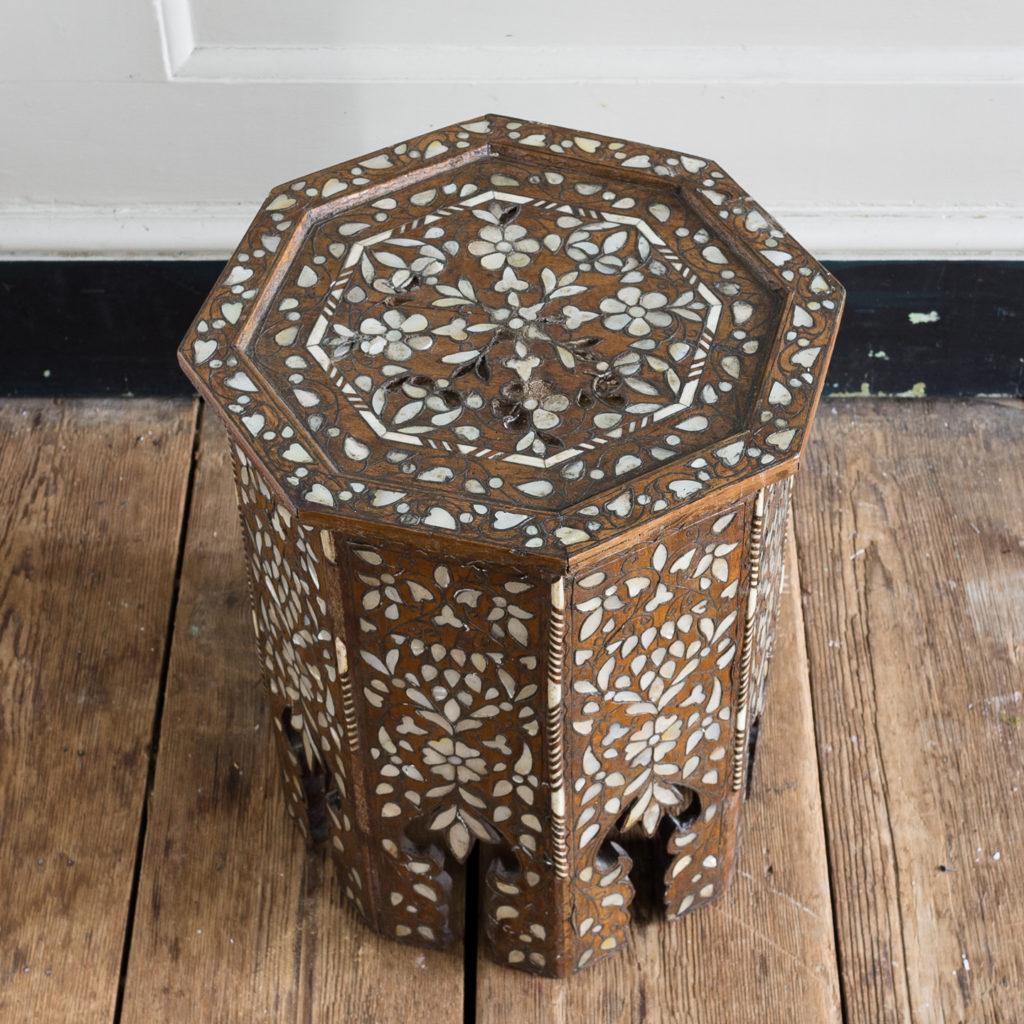 Early twentieth century Syrian octagonal occasional table, -132351