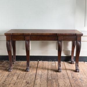 Early nineteenth century mahogany serving table,
