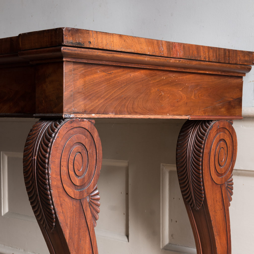Early nineteenth century mahogany serving table, -132327