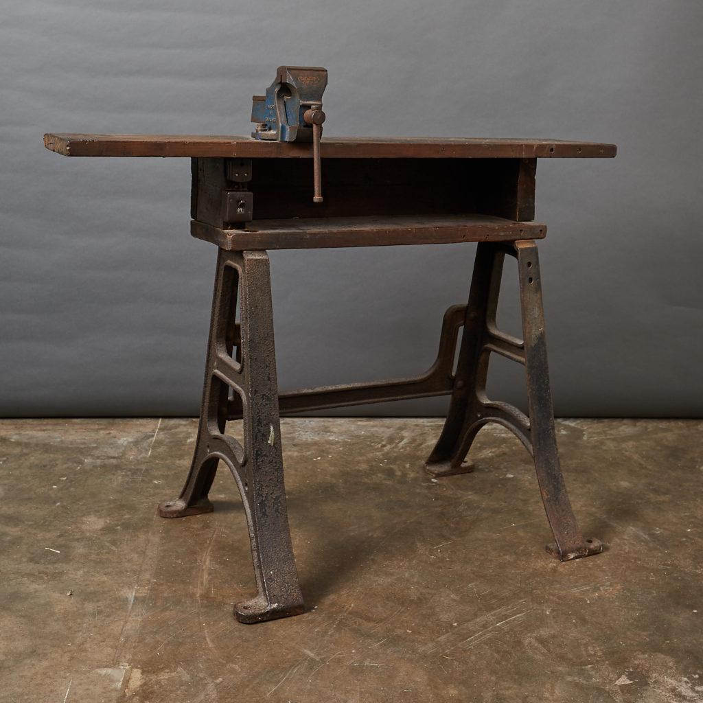 Victorian Blacksmith's workbench,-133127