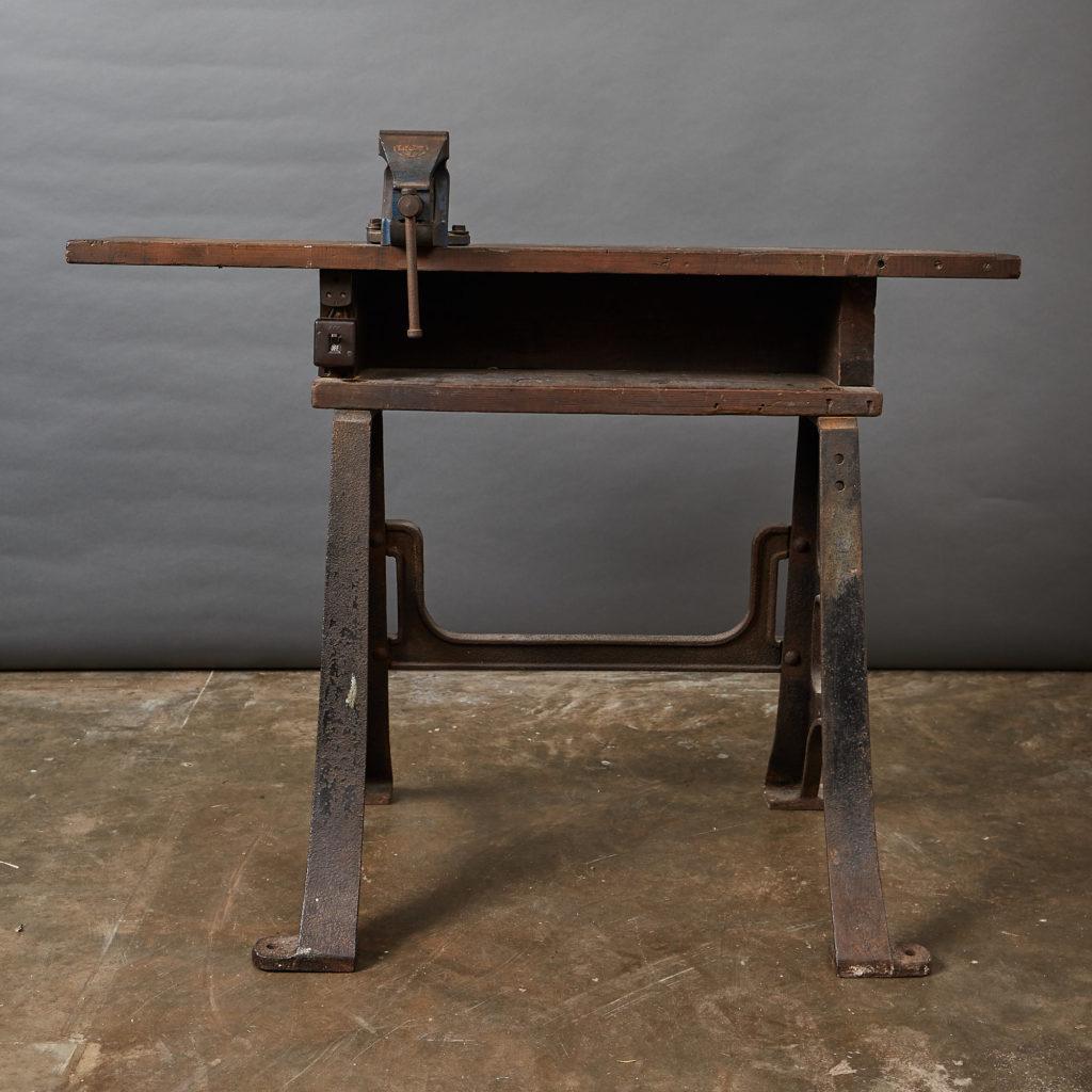 Victorian Blacksmith's workbench,-0