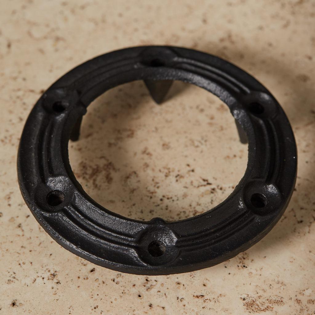 Danish iron candle holder,-132961
