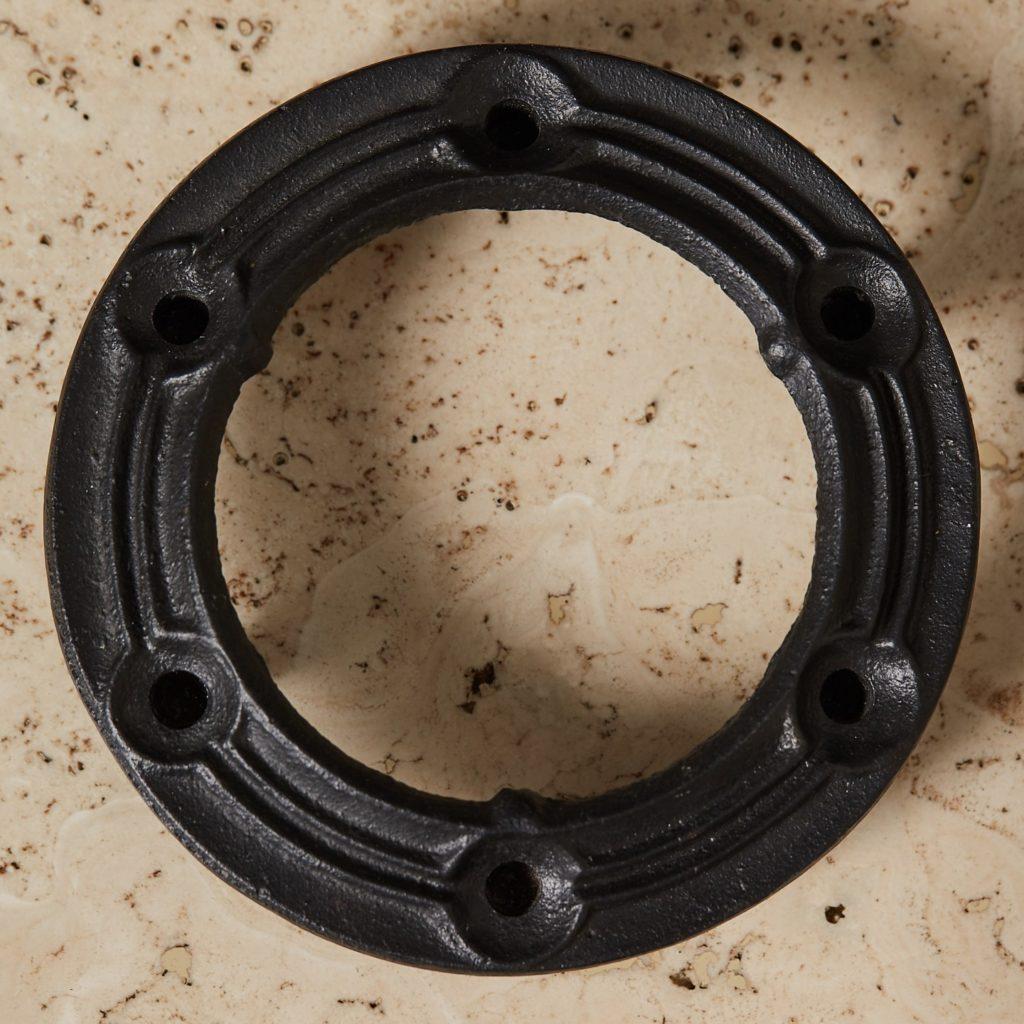 Danish iron candle holder,-132962