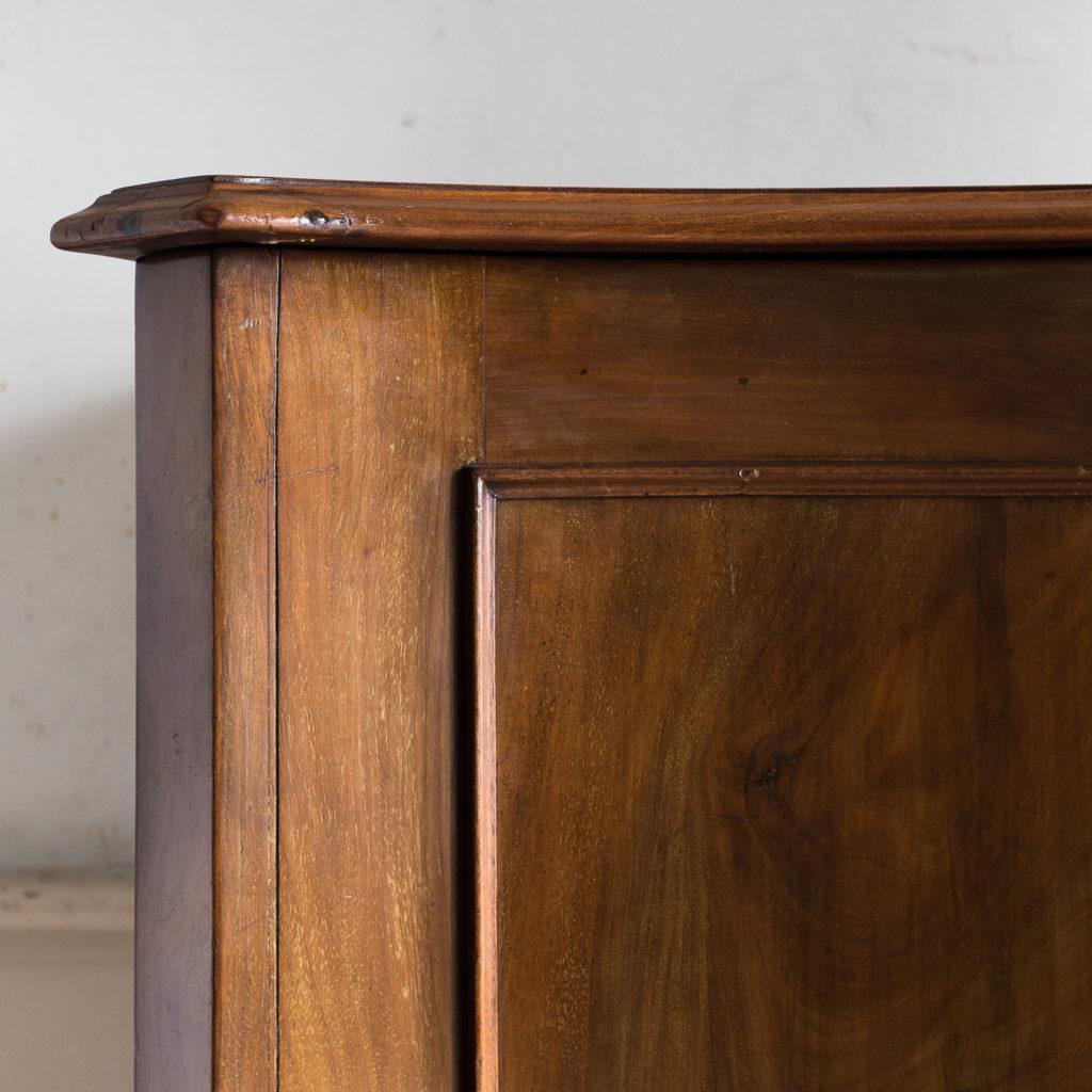 George III mahogany low press, -132403