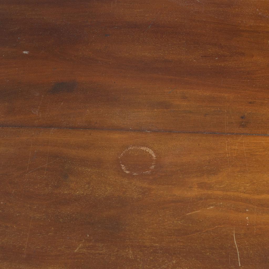 George III mahogany low press, -132407