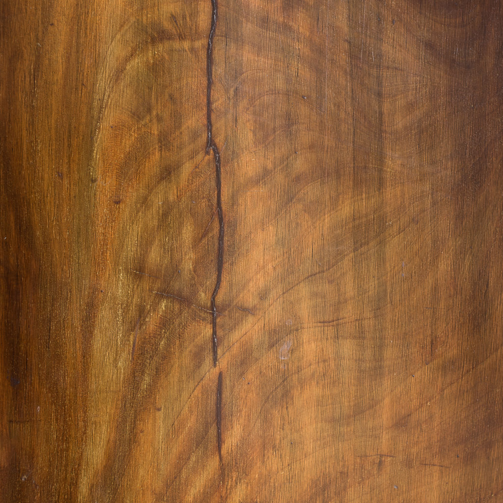 George III mahogany low press, -132400