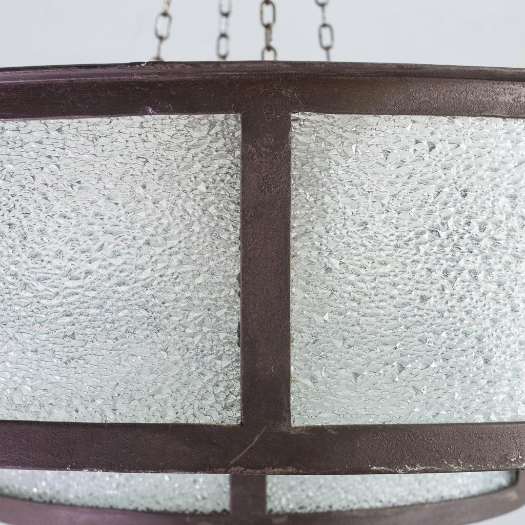 mottled glass glazing