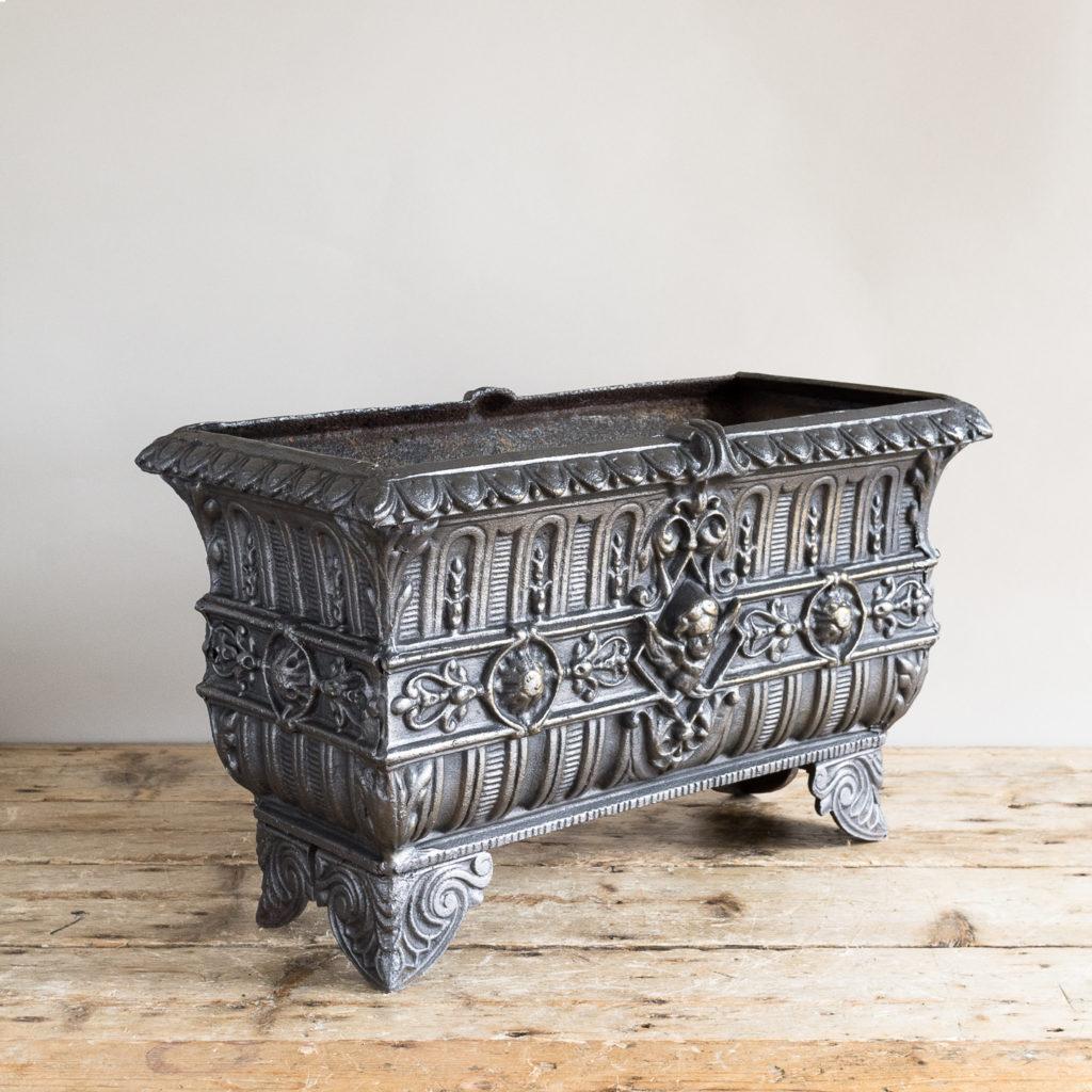 Victorian cast iron jardinière,-133506