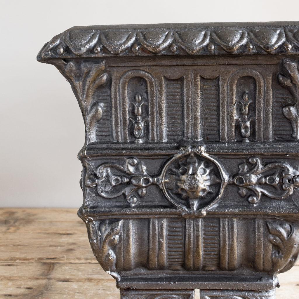 Victorian cast iron jardinière,-133502