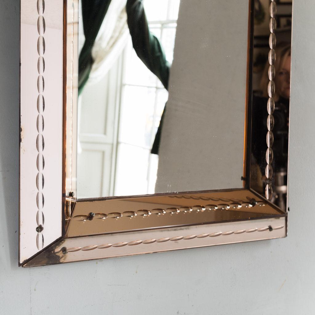 1940s Italian two-tone mirror,-133231