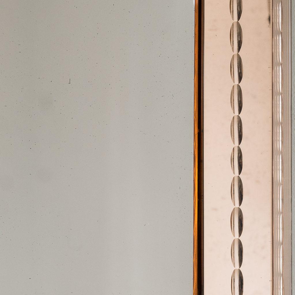 1940s Italian two-tone mirror,-133237