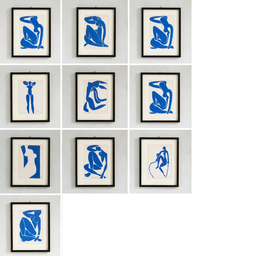 Lithographs published 1958 by Mourlot Frères of Paris