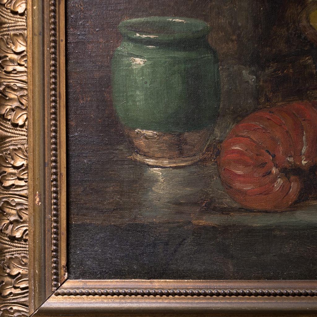 Lobster, still-life. Oil-on-canvas-133378
