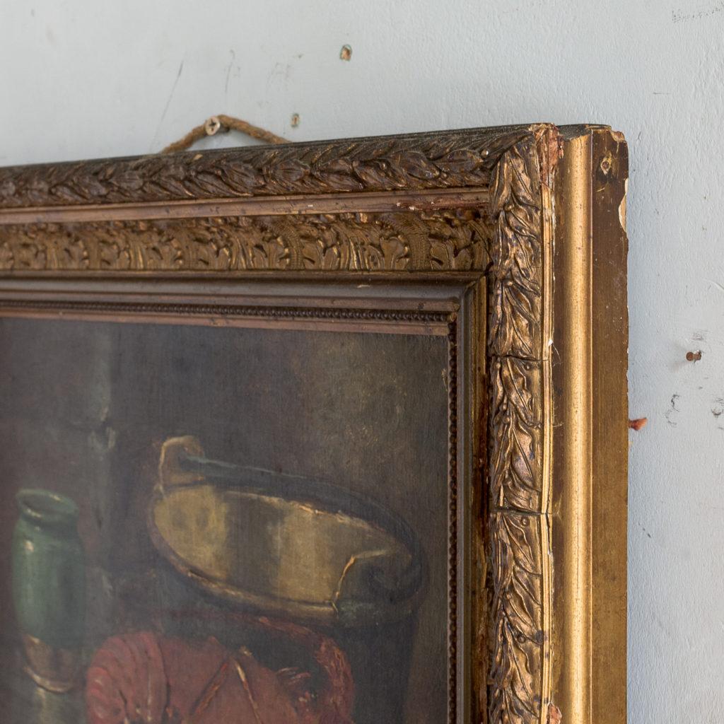 Lobster, still-life. Oil-on-canvas-133373