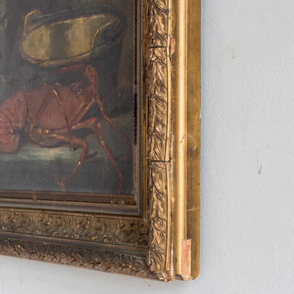 Lobster, still-life. Oil-on-canvas-133374
