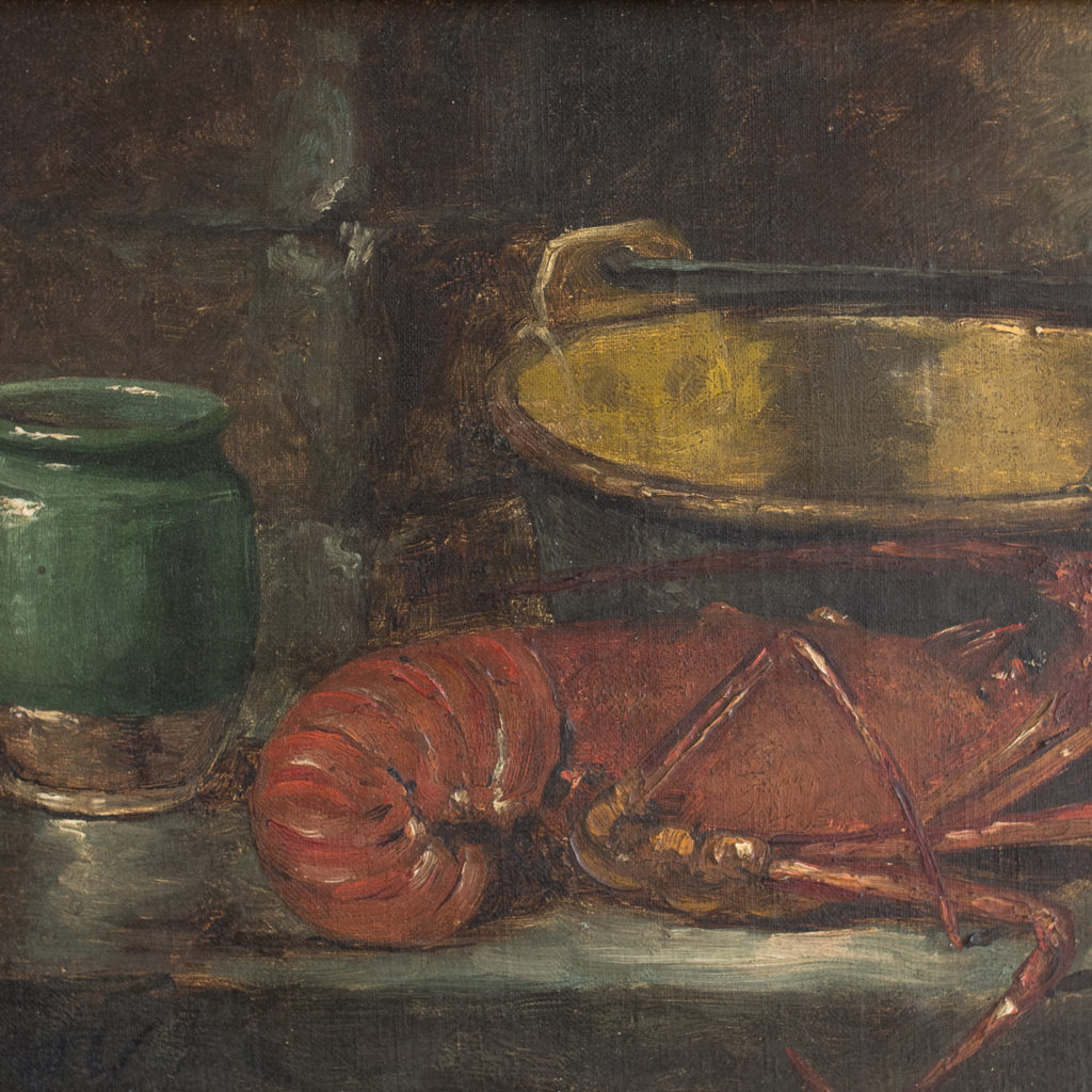 Late 19th century oil on canvas