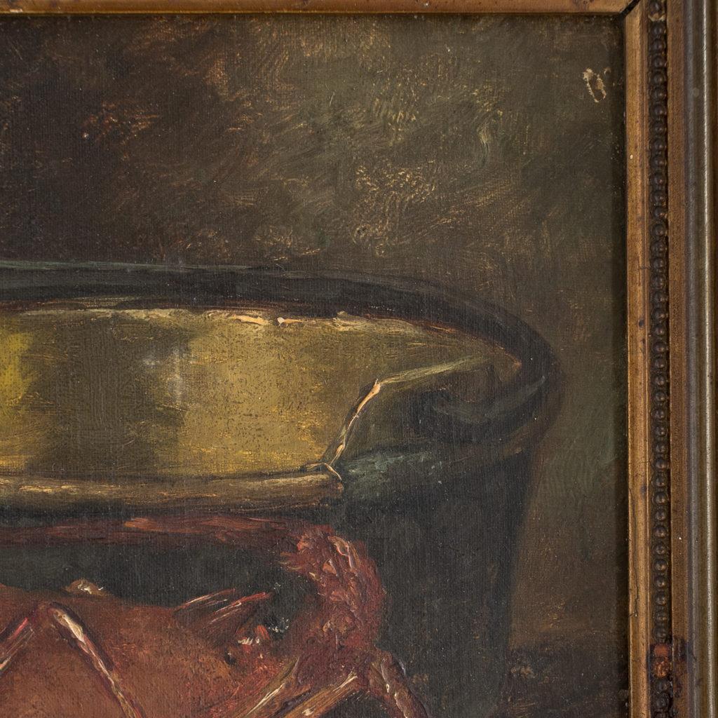 Lobster, still-life. Oil-on-canvas-133376