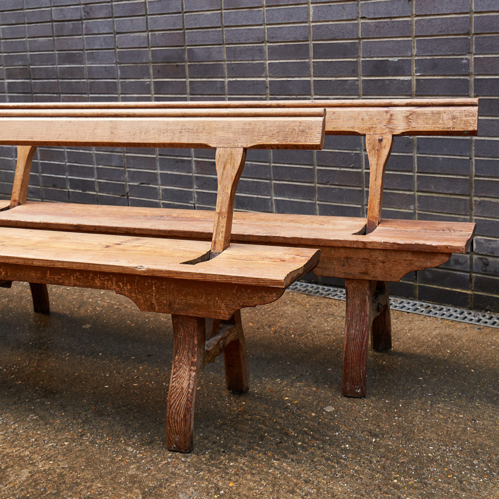 A pair of station benches,-133667