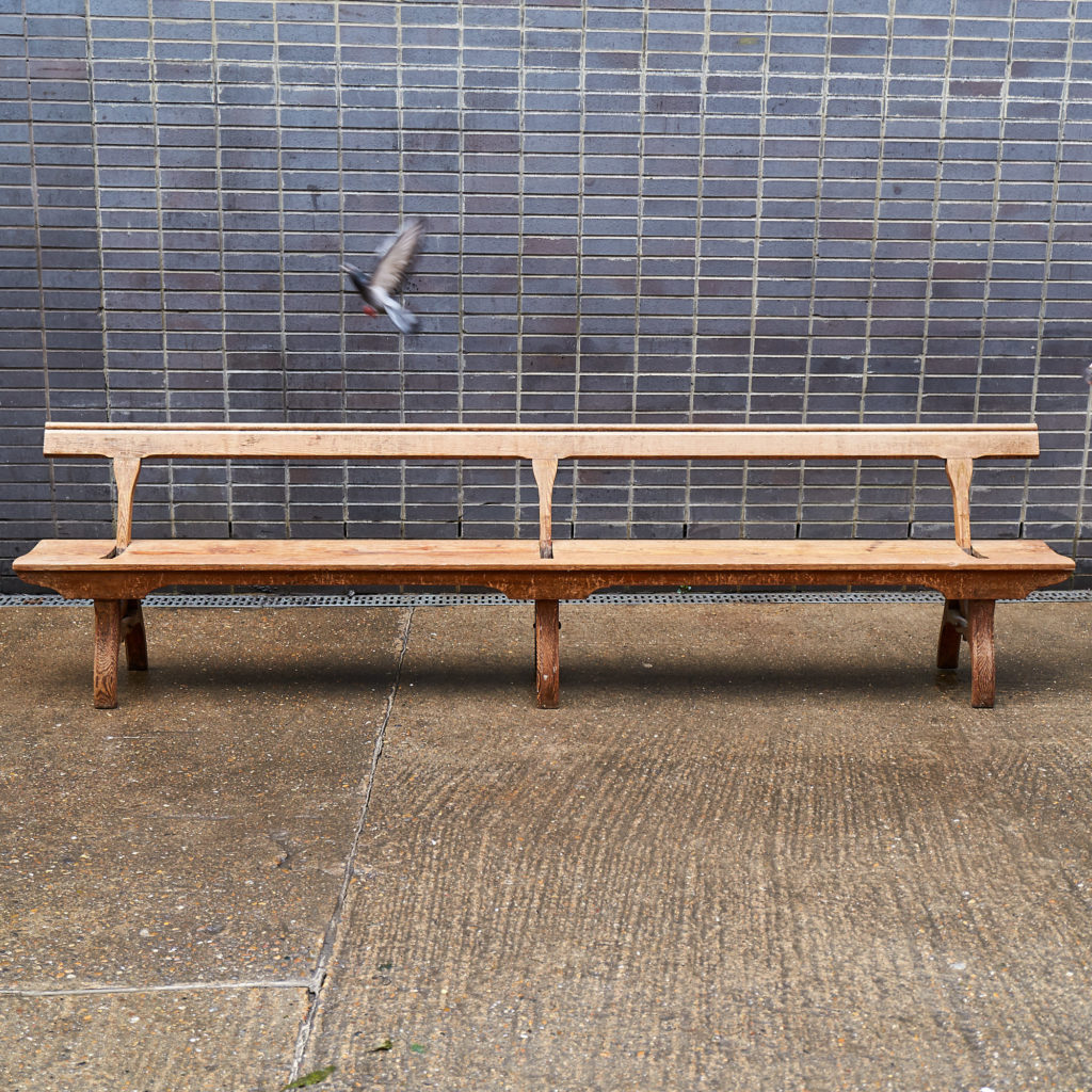 A pair of station benches,-133675