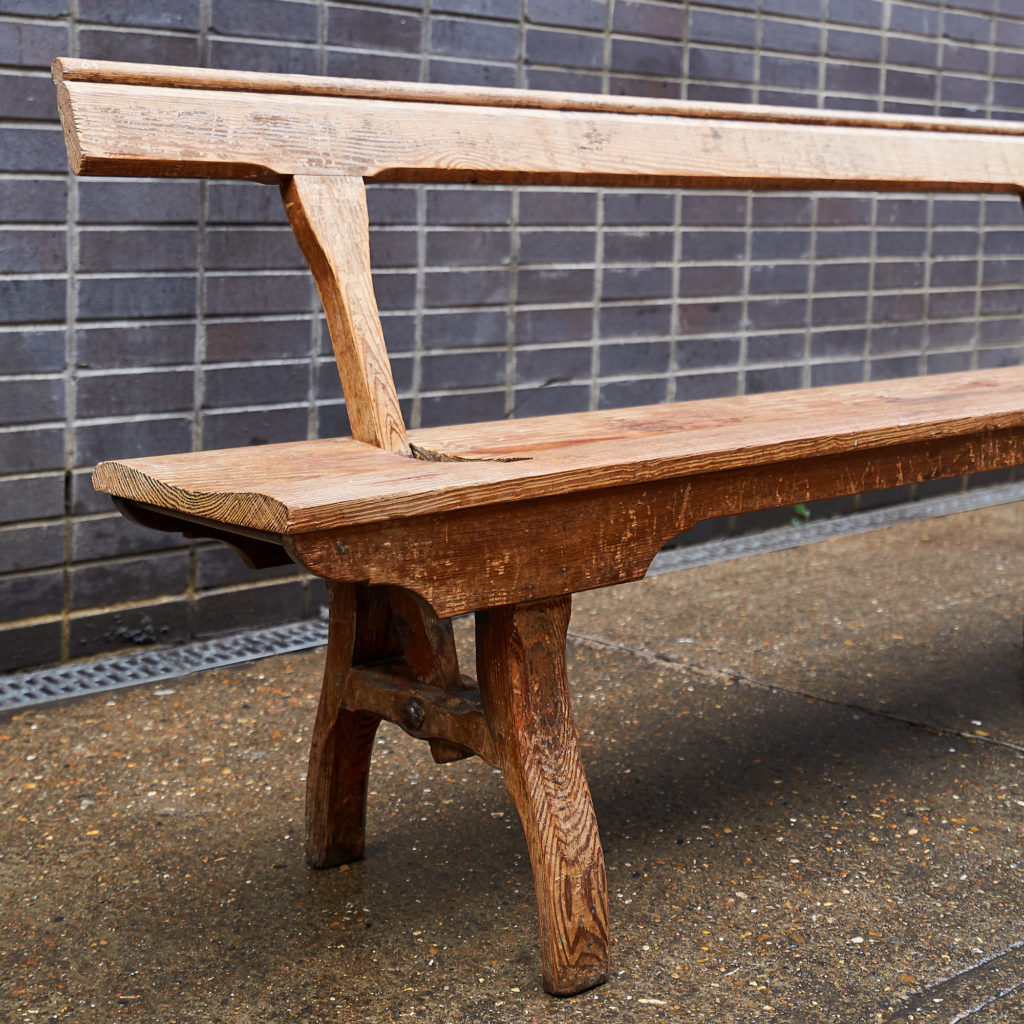 A pair of station benches,-133673