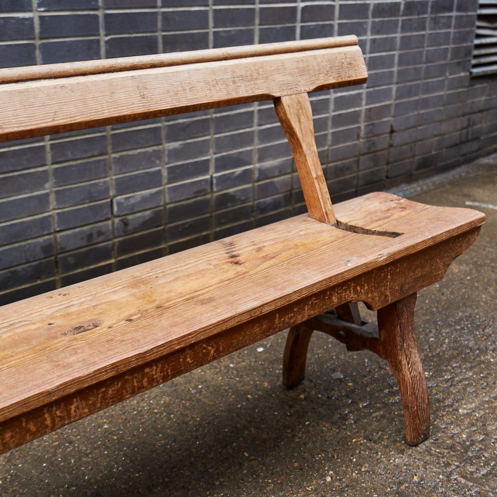 A pair of station benches,-133674