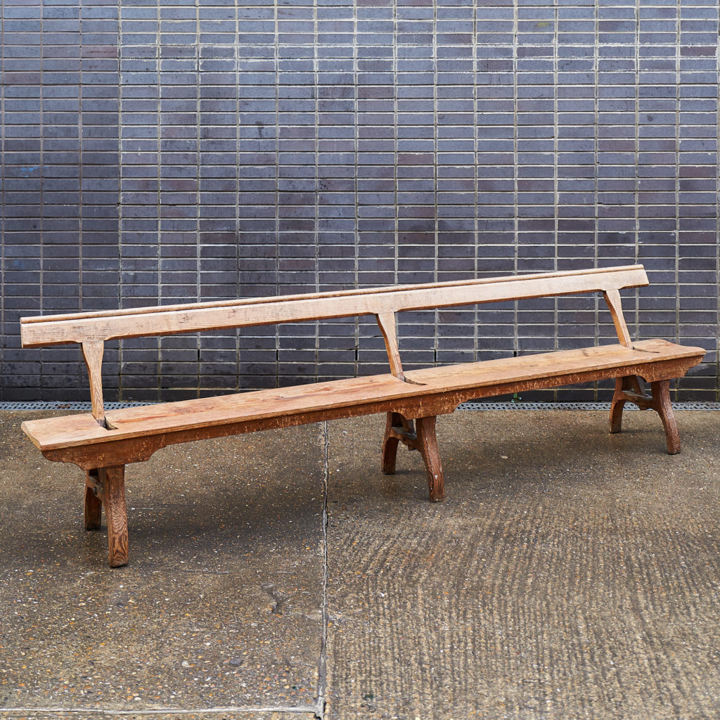 A pair of station benches,-133677