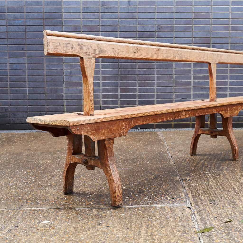 A pair of station benches,-133678