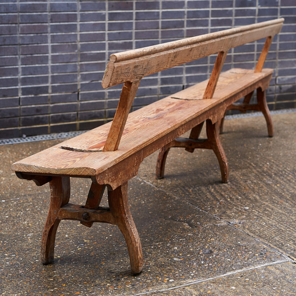 A pair of station benches,-133679