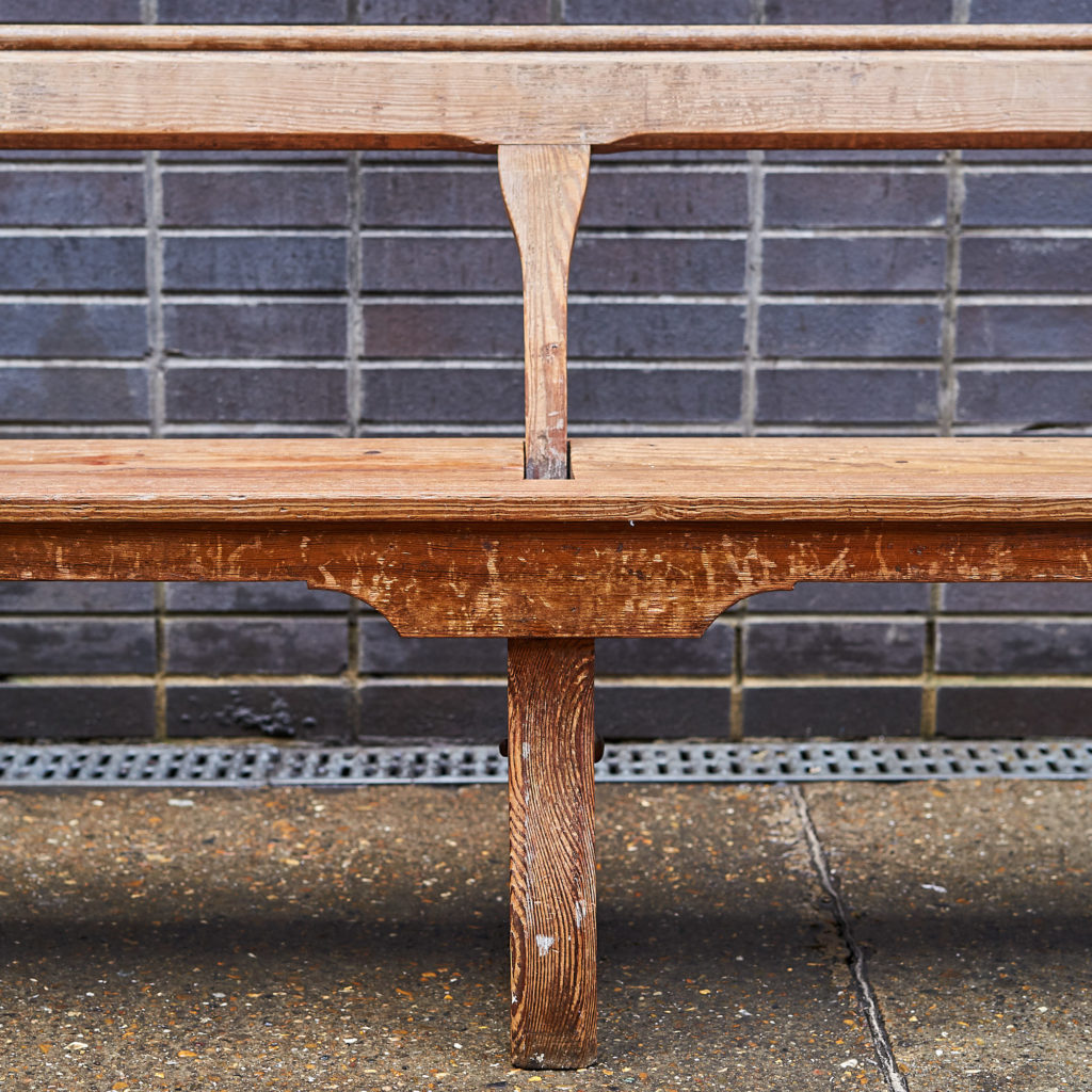A pair of station benches,-133684