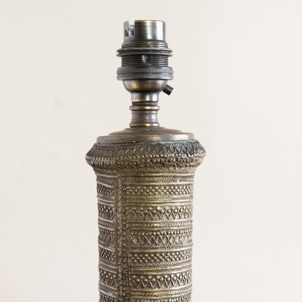 Twentieth century Moorish cast brass table lamp,-133763