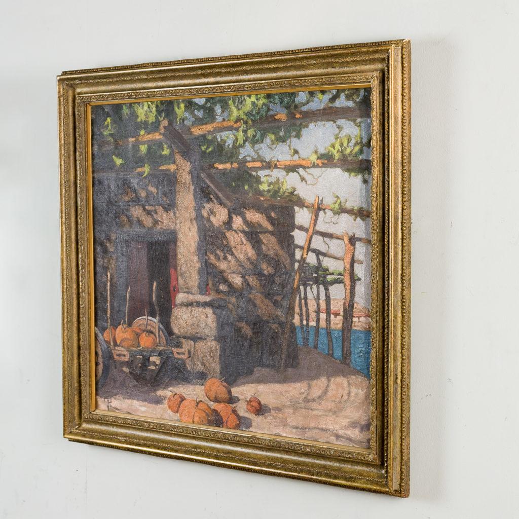 Twentieth century European School scenic painting,