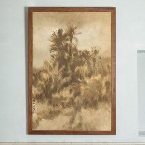 Early twentieth century Moroccan oil on canvas
