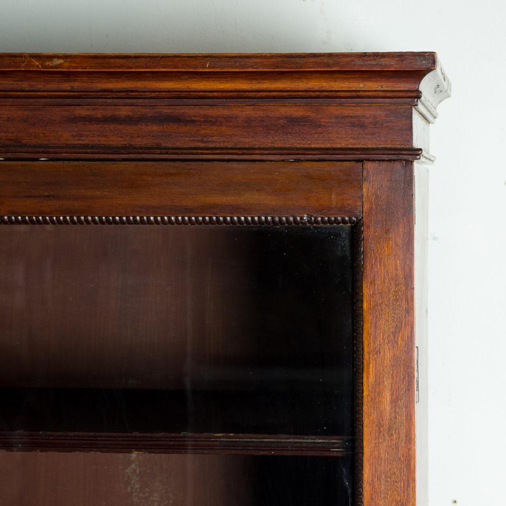 Regency mahogany bookcase,-134105