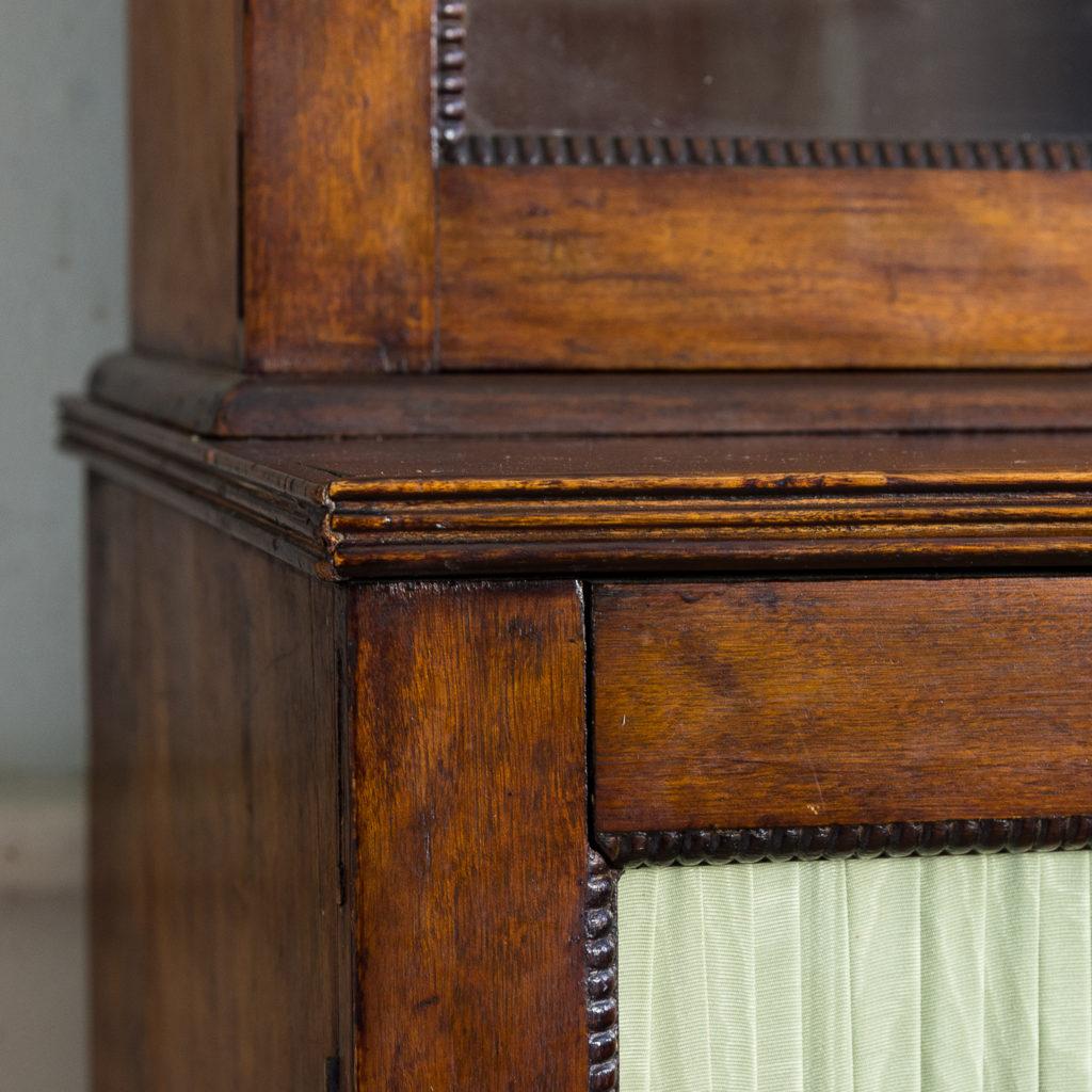 Regency mahogany bookcase,-134121