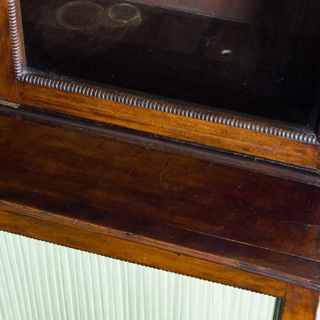 Regency mahogany bookcase,-134107