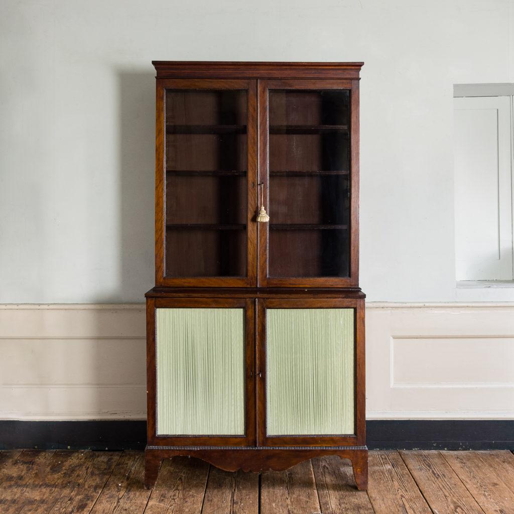 Regency mahogany bookcase,