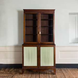 Regency mahogany bookcase,