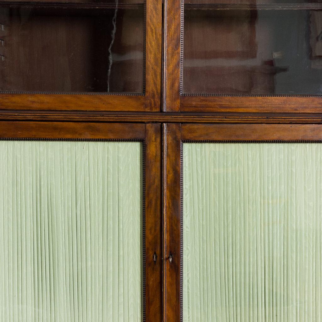 Regency mahogany bookcase,-134109