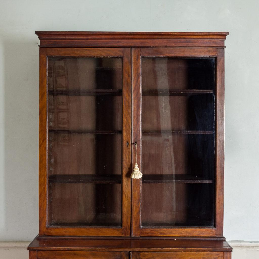 Regency mahogany bookcase,-134108