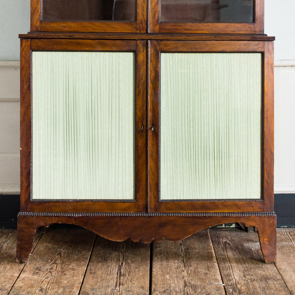 Regency mahogany bookcase,-134110