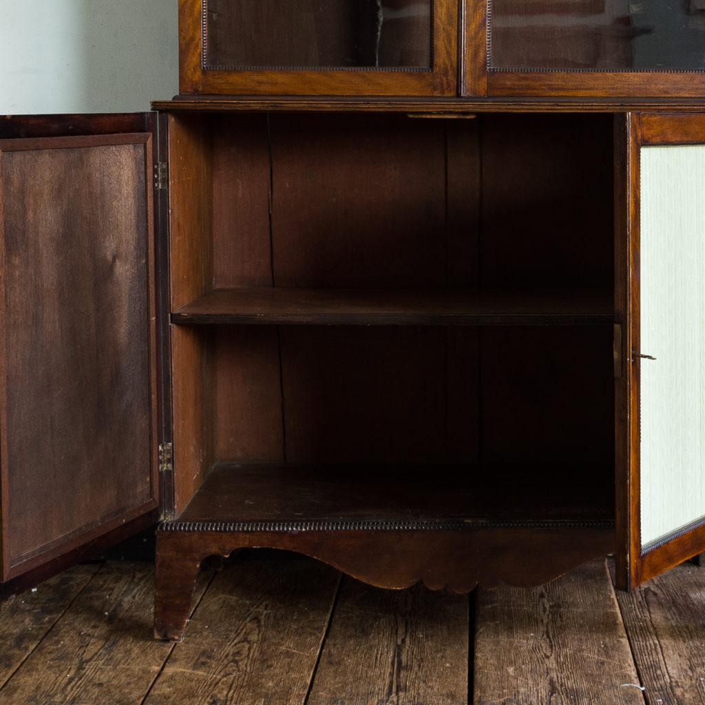 Regency mahogany bookcase,-134112