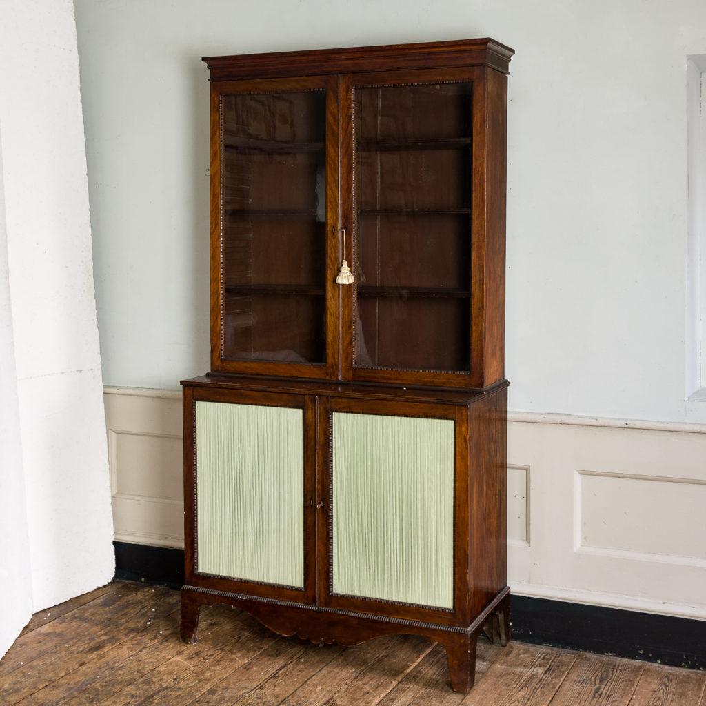 Regency mahogany bookcase,-134113