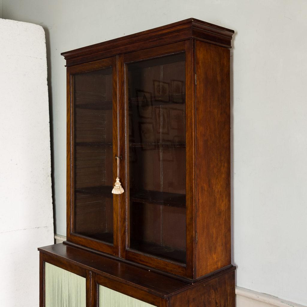 Regency mahogany bookcase,-134115